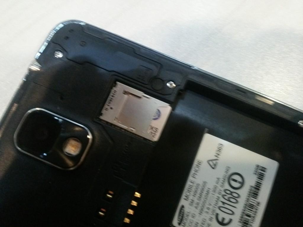 三星手机卡剪卡图解